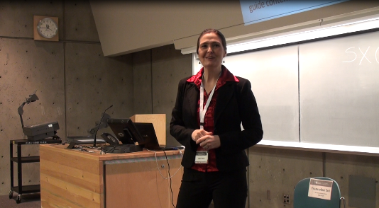 JUHLi SELBy Speaks at WordCamp at Uvic in Victoria BC 2013