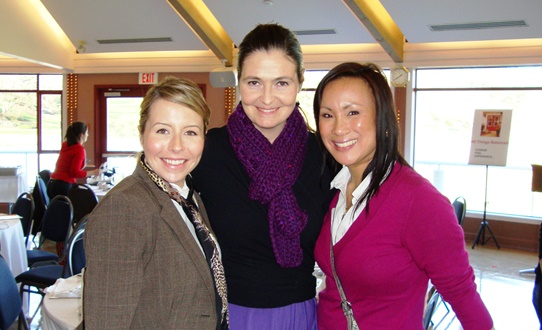 JUHLi SELBy, Summer Coley-Ward & Andrea Ting-Letts at a Westshore Women's Business Network lunch