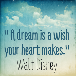 Sample of Instaquote - A dream is a wish the heart makes 1