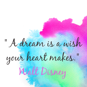 Instaquote sample - A dream is a wish the heart makes2