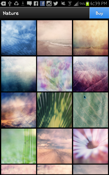 Instaquote background packs - Jan 2014