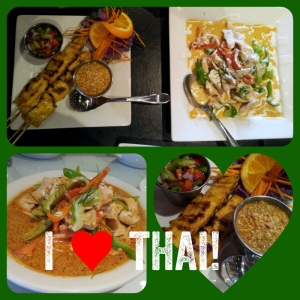 Instaquote sample - I love Thai food