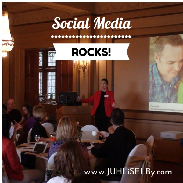 JUHLi SELBy Social Media - Event Speaker in Victoria BC