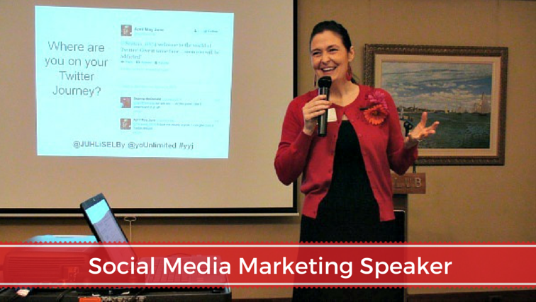 Juhli Selby Social Media Marketing Speaker in Victoria BC