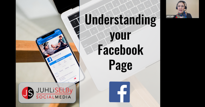 Facebook Pages course with a live small group class size